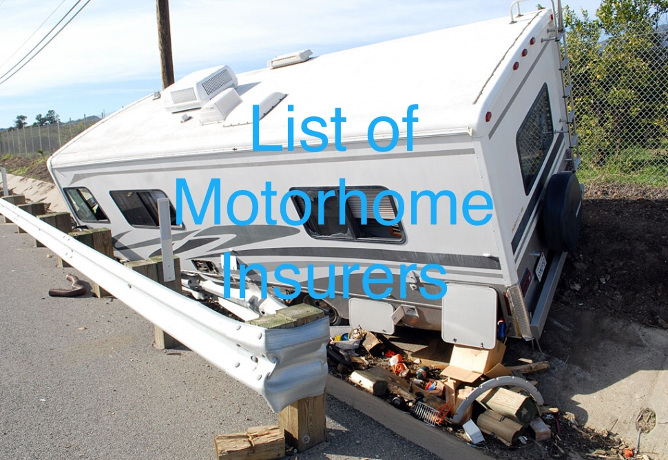 List Of Motorhome Insurance Providers Our Bumble